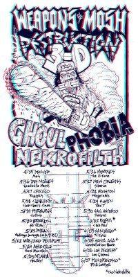ghoul nekrofilth tour