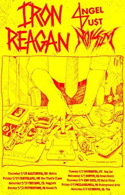iron reagan angel du$t noisem tour 2015