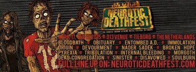 neurotic deathfest march 2015