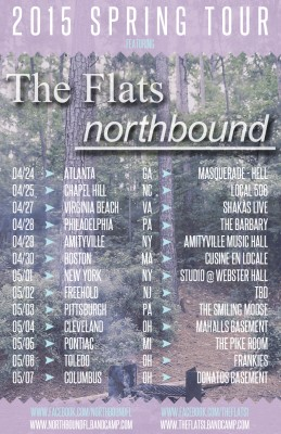 the flats northbound 2015 spring tour