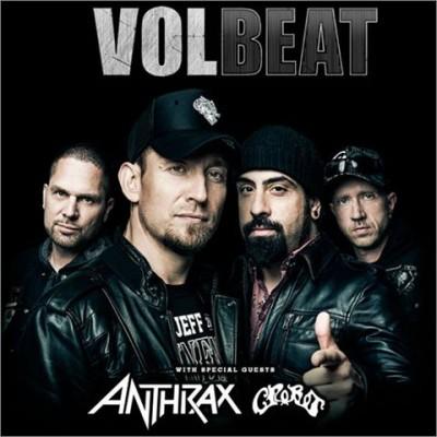 volbeat anthrax crobot tour