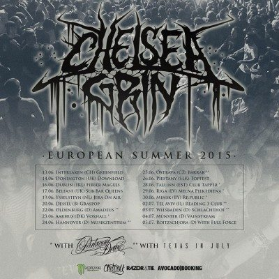 chelsea grin european summer 2015