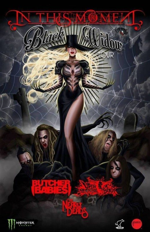 in this moment black widow tour