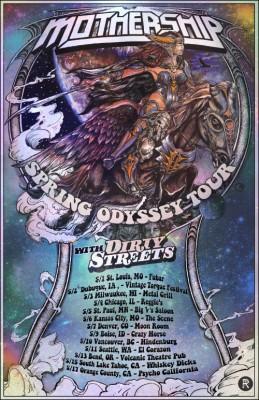 mothership spring odyssey tour 2015