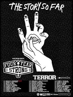 the story so far four year strong terror north american tour