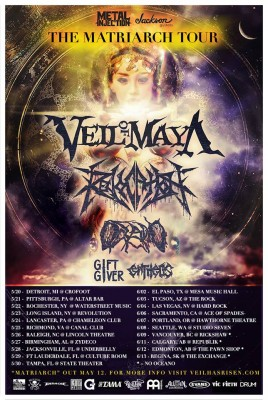 veil of maya matriarch tour