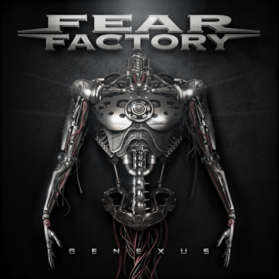 Fear Factory Genexus album cover 2015