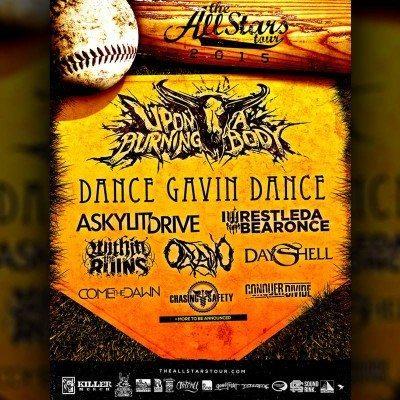 all stars tour 2015