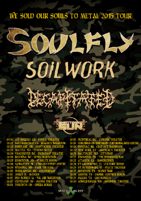 soulfly soilwork decapitated shattered sun tour