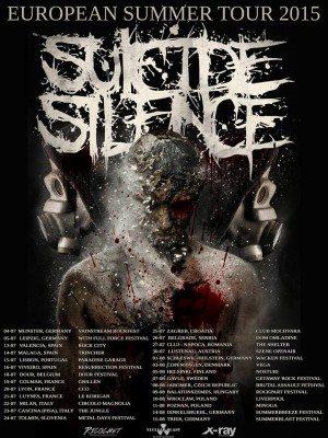 suicide silence euro tour 2015