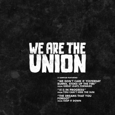 we are the union sampler