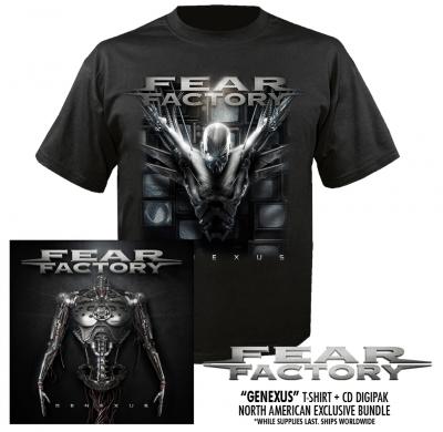 Fear Factory genexus pre-order bundle iamge