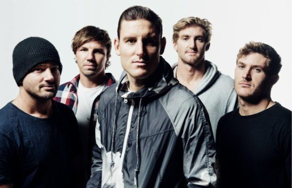 Parkway Drive, photo by Tom Barnes.