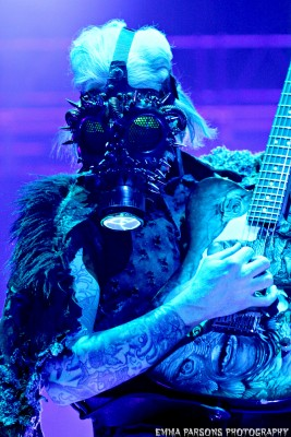 John 5 of Rob Zombie, by Emma Parsons Photography
