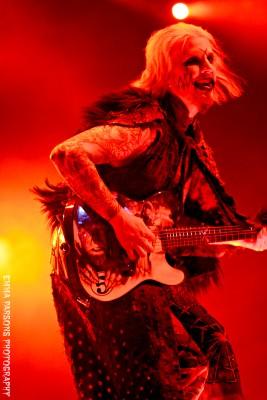 John 5, Rob Zombie, by Emma Parsons Photography