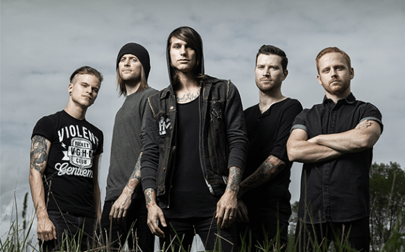 blessthefall band 2015