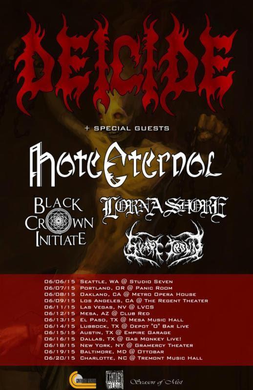 decide tour poster