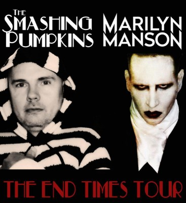 smashing pumpkins marilyn manson tour