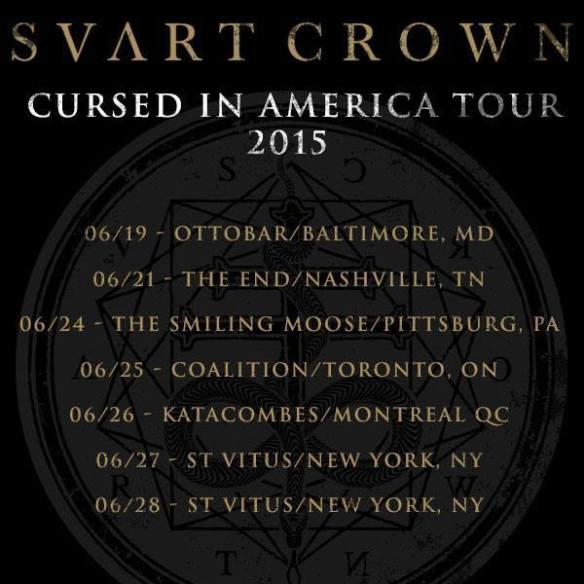 svart crown cursed in america