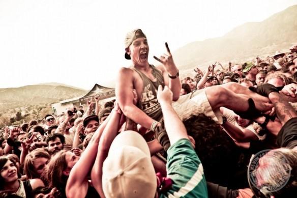 Crowd at Mayhem Festival 2015, Devore CA - photo©Kevin Estrada / kevinestrada.com