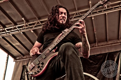 Joseph Guajardo of Shattered Sun. Photo Credit: Kevin Estrada.