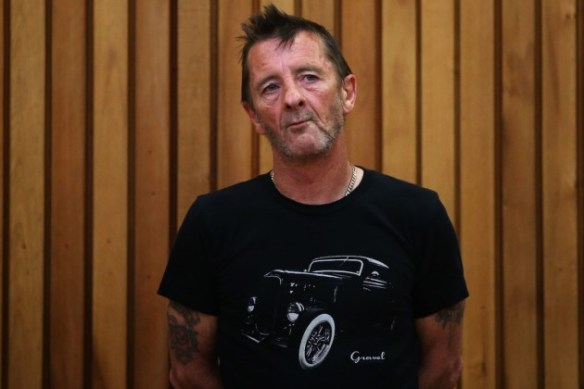 Phil Rudd, photo credit: John Ford, Getty Images