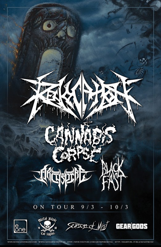 revocation cannibis corpse tour admat