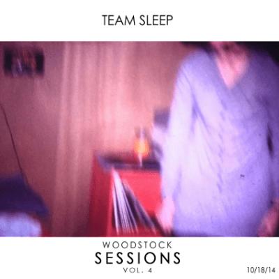 team sleep woodstock sessions album cover 2015