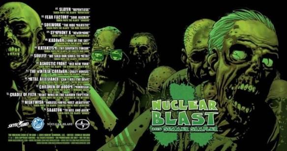 the walking dead nuclear blast