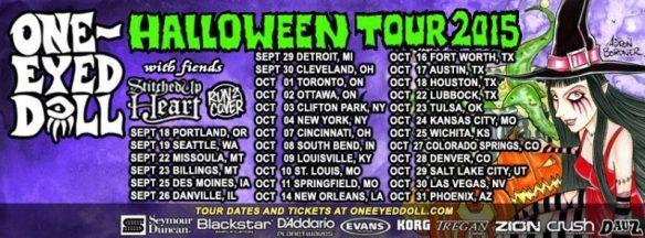 One Eyed Doll halloween tour