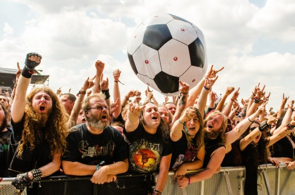 Crowd at Bloodstock Open Air 2015, photo credit Sabrina Ramdoyal