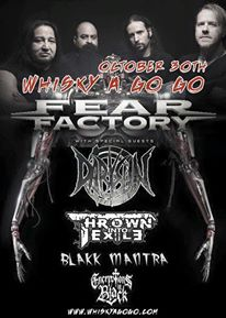 fear factory whisky oct 30 2015