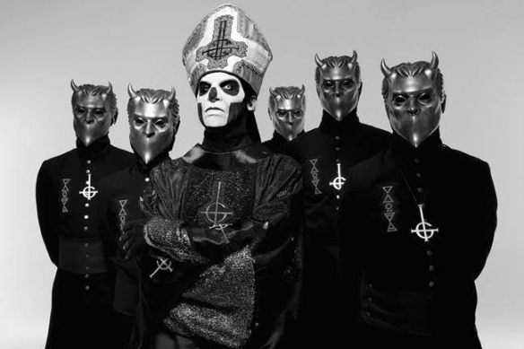 Ghost, photo credit- Spinefarm Records
