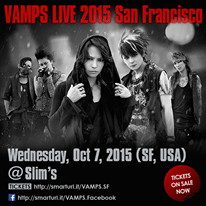 vamps san francisco 2015