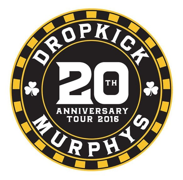 Dropkick Murphys 20t Anniversary