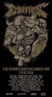 coffins the bloodstained resurrection tour 2016