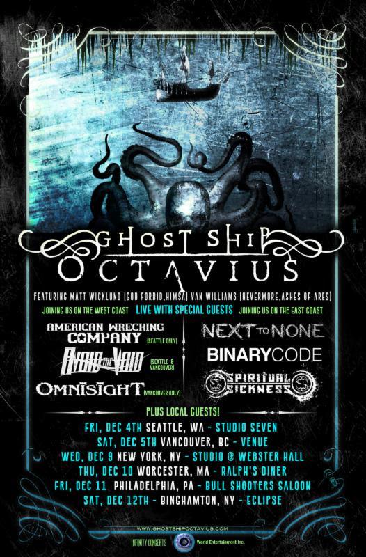 Ghost Ship Octavius admat