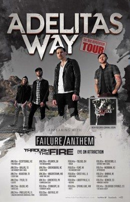 adelitas way failure anthem tour