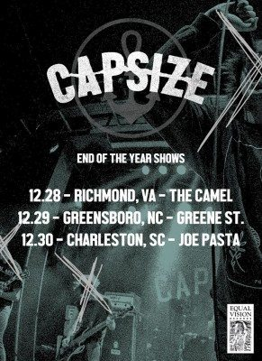 capsize end of year shows 2015