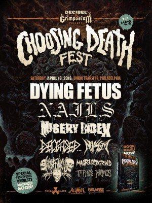 choosing death fest 2016