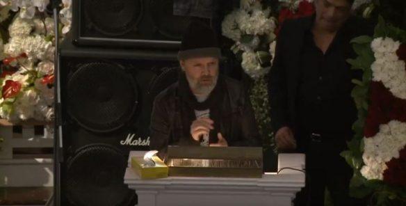 Lars Ulrich of Metallica eulogizes Lemmy