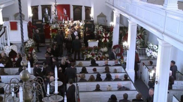 screenshot of lemmys funeral