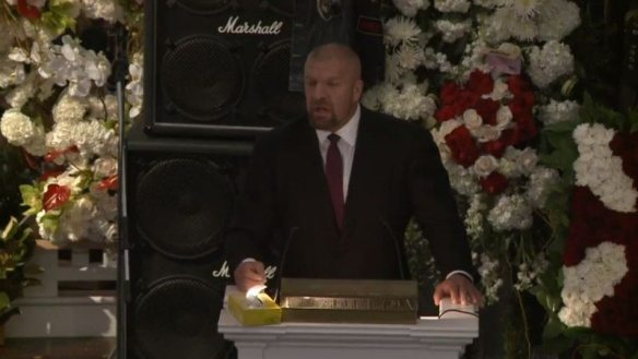 Triple H Eulogizes Lemmy
