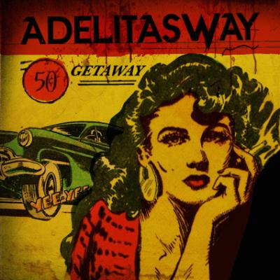 Adelitas Way - Getaway album cover 2016 ghostcultmag