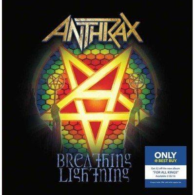 Anthrax Breakthing Lightning single cover