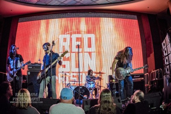 Red Sun Rising at ShipRocked, by Rick Triana