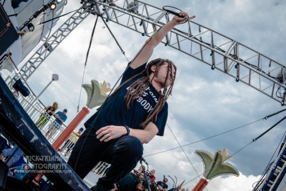 Nonpoint at ShipRocked, by Rick Triana
