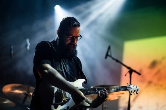 Ihsahn, at Blastfest, photo credit Jarl H. Moe