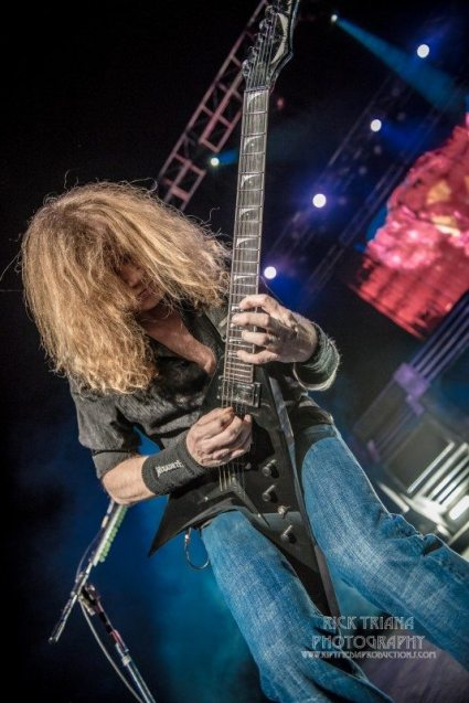 Megadeth, by Rick Triana Photography