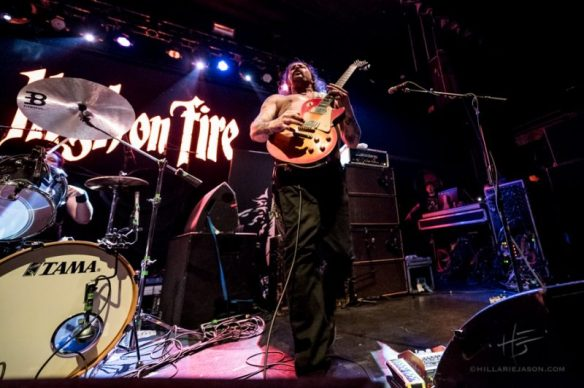High on Fire, by Hillarie Jason